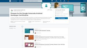 Web Designer Linkedin Become An Android Developer With Our Google Endorsed