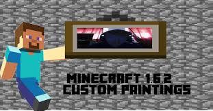 minecraft 1 6 2 custom paintings tutorial