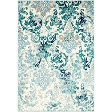 beautiful light teal rug distressed fl teal light blue area rug light teal green rugs