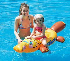 Review Of Pool Float Kids Inflatable Duckbill Platypus Ride On