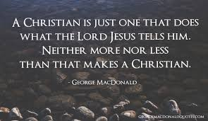 Christian Rock Quotes Best Of A Christian Is Just George MacDonald Quotes User Rated Quotes