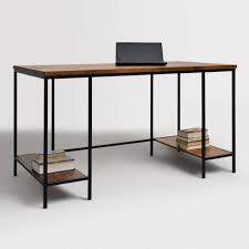 extra long office desk. Wood And Metal Williard Extra Long Desk Extra Long Office Desk P