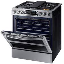 double oven gas range. Image Is Loading Samsung-5-8-cu-ft-Flex-Duo-In- Double Oven Gas Range W