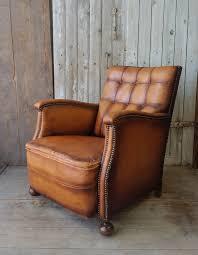 vintage leather club chairs. Zoom; Vintage Leather Club Chair -brocante-furnishings-tanclub3-main-636646653334327929.jpg Chairs