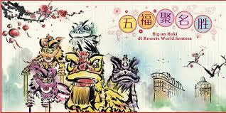 Catatan pertama tentang tarian ini bisa ditelusuri pada masa dinasti a. Semarak Perayaan Imlek Penuh Hoki Di Resorts World Sentosa Singapore Infeed Id