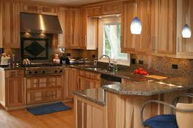 Hickory Wood Custom Kitchen Cabinets Hickory Wood Cabinets O19