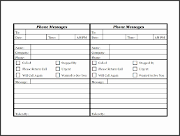 Phone Message Template For Outlook 2010 Outlook Phone Message Template 2010 All New Resume