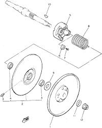 similiar yamaha g9 golf cart parts diagram keywords slayer here is a diagram 6 is the shoe