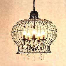 black cage chandelier retro vintage black rust wrought iron cage chandeliers big french empire style crystal