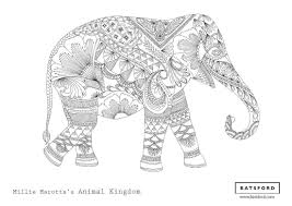 Elephant Coloring Pages For Adults New Mandala Coloring Pages For