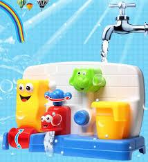 baby newborn bath toys water faucet taps spout spray shower water play bathtub