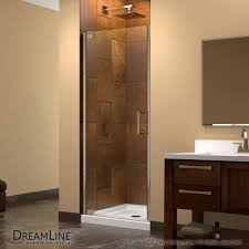 image is loading dreamline elegance 34 to 36 in frameless pivot