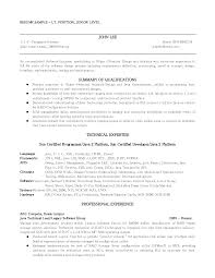 job resume examples for first job