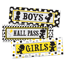 Peanuts Touch Of Class Hall Passes Eu 642016 Hall Passes