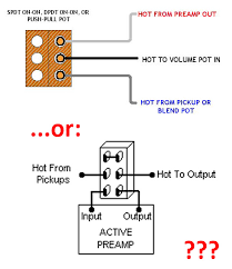 push pull switch wiring active wiring diagram list wiring for a passive 9v 18v all in one switch talkbass com push pull switch wiring active