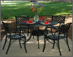 black wrought iron patio furniture. Awesome Wrought Iron Patio Table And 4 Chairs Black Furniture Sets With N