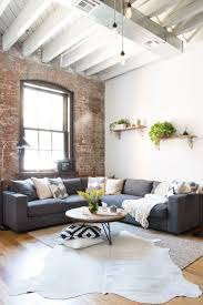 cozy furniture brooklyn. A Young Couple\u0027s Williamsburg Industrial Apartment. Still Cozy, Though, Cozy. HomePolish Cozy Furniture Brooklyn O