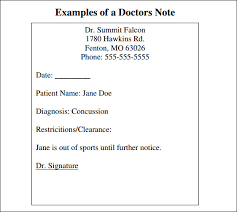 Fake Doctors Note With Stamp 15 Fake Doctors Note Free Professional Resume