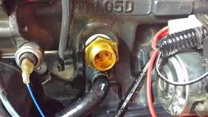 installing a block heater on a b orangetractortalks then you can put the plug on the heater tie up the cord and put the fuse box back on