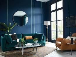 habitat aw18 clemencesofa midnight blue living room wood furniture
