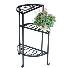tiered iron plant stand. With Tiered Iron Plant Stand