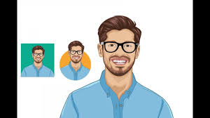 vector ilrator tutorials draw vector cartoon portrait in ilrator vector portrait adobe ilrator tutorials