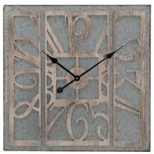 office large size floor clocks wayfair. Rosalind Wood Wall Clock Office Large Size Floor Clocks Wayfair V