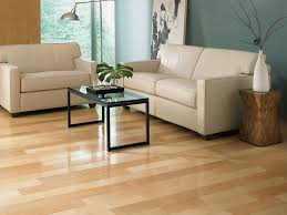 image of elegant natural maple hardwood flooring