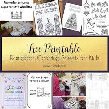 Involving Kids In The Ramadan Spirit Free Printables
