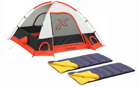 Xscape Designs Explorer 2 Dome Tent Xscape Designs Torino 3 Sleeping Bag Combo