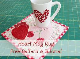 1265 best Mug Rugs images on Pinterest | Carpets, Crafts and Heart & Notion of the Month: Olfa Rotary Blades ~ Perfect for a cup of coffee and a  Valentine's Day Treat ~Fat Quarter Shop's Jolly Jabber Adamdwight.com