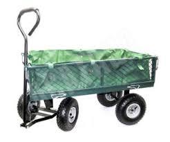folding garden cart. Image Is Loading Garden-Cart-4-Wheel-Trolley-Folding-Handle-Economic- Folding Garden Cart D