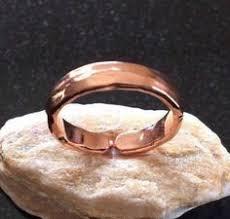 <b>Copper</b> Ring - R04H-8GS Adjustable Heavy Hammered <b>Shiny Pure</b> ...