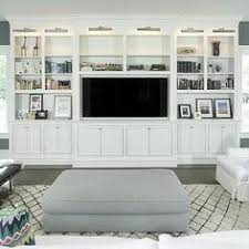 white living room tv cabinet with nickel picture lights built in living room built ins tv r19 room