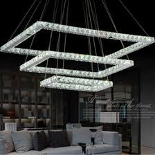 new led k9 crystal chandelier light fixture rectangle led pendant lamp with beautiful guaranteed 100 ac110v220v beautiful light fixtures l83