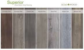 superior glue down vinyl flooring