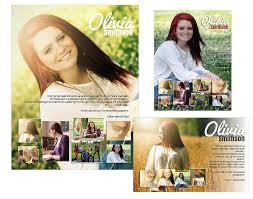 Seniors Ads Yearbook Templates Olivia 14 99
