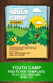Summer Camp Brochure Template Summer Camp Flyer Templates Summer