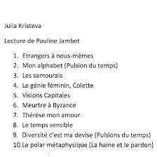 Julia Kristeva Citations