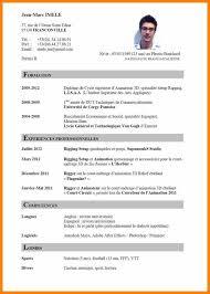 Format Curriculum Vitae Unique Curriculum Vitae Sample Formatcv Format Sample Resume Aibk Sample