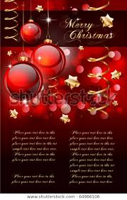 Christmas Backgrounds For Flyers Merry Christmas Elegant Background Flyers Posters
