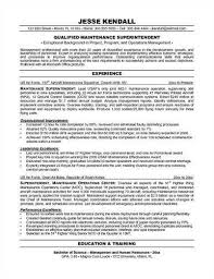 Maintenance Resume Samples | Resume Cv Cover Letter