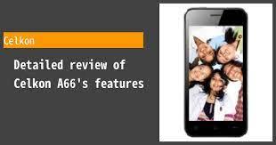 Celkon A66 Review