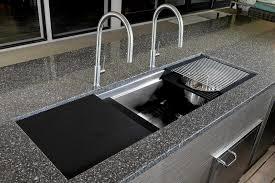 Amazing Decor Hahn Kitchen Sinks With Drainboard And Quartz