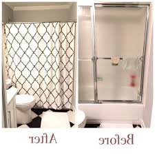 travel trailer shower curtain replacement with regard to home 7