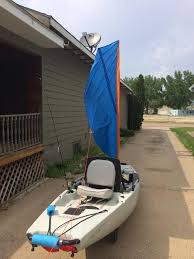we made this sail after the hobie mirage sail design plan to post plans and instructions as well as details on sd in the kayakdiy you channel