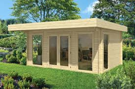 outdoor garden office. yorick log cabin garden office timber clad wooden outdoor offices