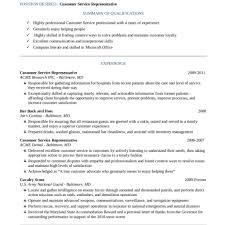 Resume Templates Customer Service Customer Service Resume Example Perfect Resume 24 Customer For 22