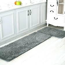 kitchen area rugs floor runner 2 piece rug door mat soft gy solid color for hardwood kitchen area rugs