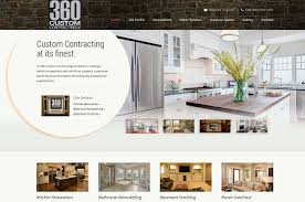 Web Design For Home Contractors And Renovation Companies Awesome Home Interior Design Websites Remodelling